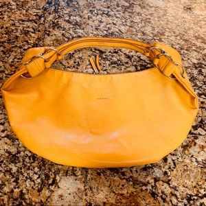 Matt & Nat hobo mustard yellow bag purse